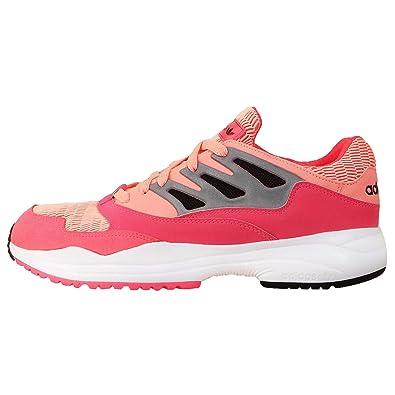a9ece62c0 Adidas Originals Torsion Allegra Red Zest   Metallic Silver running  trainers D65481 (10)  Amazon.co.uk  Shoes   Bags