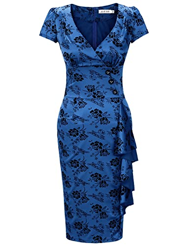 JUESE Women's 1950's Casual Of...