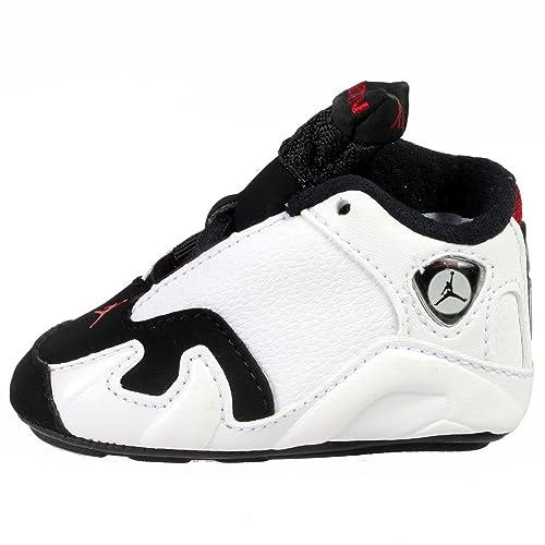 new concept a9f21 b870d Nike Infant/Toddler Jordan 14 Retro Gift Pack Crib shoes ...