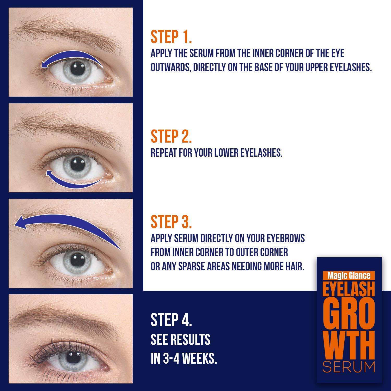 Amazon Natural Eyebrow And Eyelash Growth Serum Made In