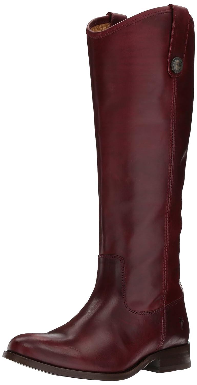 Bordeaux Soft Vintage Leather Frye Women's Melissa Button Boot