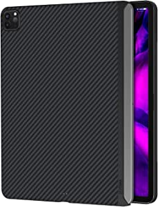 "PITAKA Magnetic Aramid Fiber Case for iPad Pro 2018 & 2020 12.9"" [ MagEZ Case ] Ultra-Slim and Light Minimalist Stylish Design Cover"