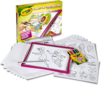 Crayola Light-Up Tracing Pad, Pink