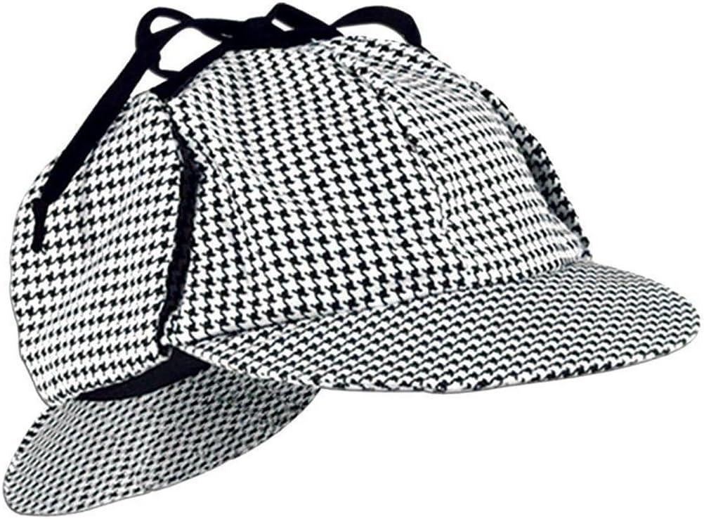 Fancy Dress Detective Hat Amazon Co Uk Toys Games World famous detective sherlock attractive hat tweed high quality durable cap. fancy dress detective hat amazon co uk