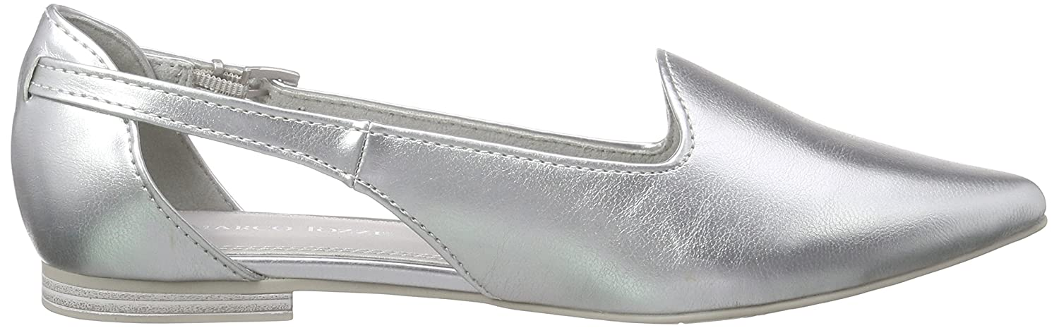 24233, Womens Closed Ballerinas Marco Tozzi