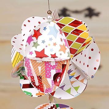 Creative Ideas - DIY 3D Paper Ball Christmas Ornament | 355x355