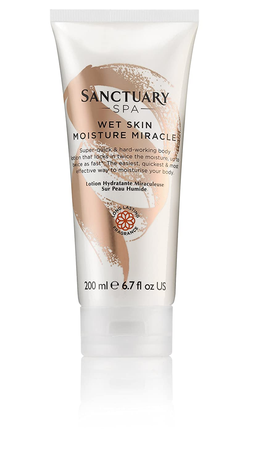 Sanctuary Spa Wet Skin Moisture Miracle Body Lotion 200ml