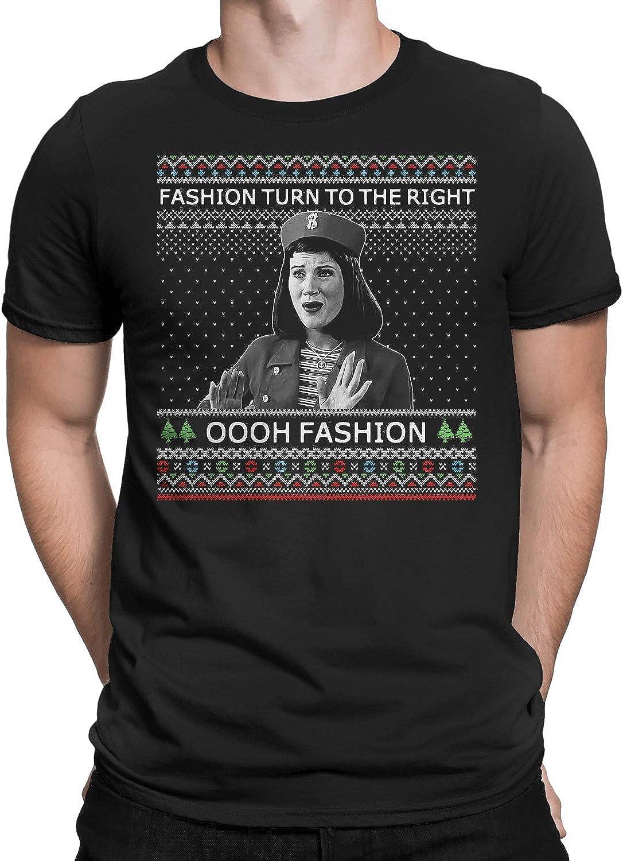 Marrola Fashion Turn to The Right Ugly Christmas T-Shirt