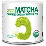 Matcha DNA Certified Organic Matcha Green Tea (1 LB - TIN CAN)