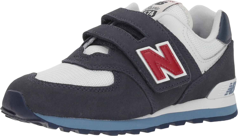 New Balance Kids 574v1 Essentials Hook and Loop Sneaker New Balance Kids/' 574v1 Essentials Hook and Loop Sneaker