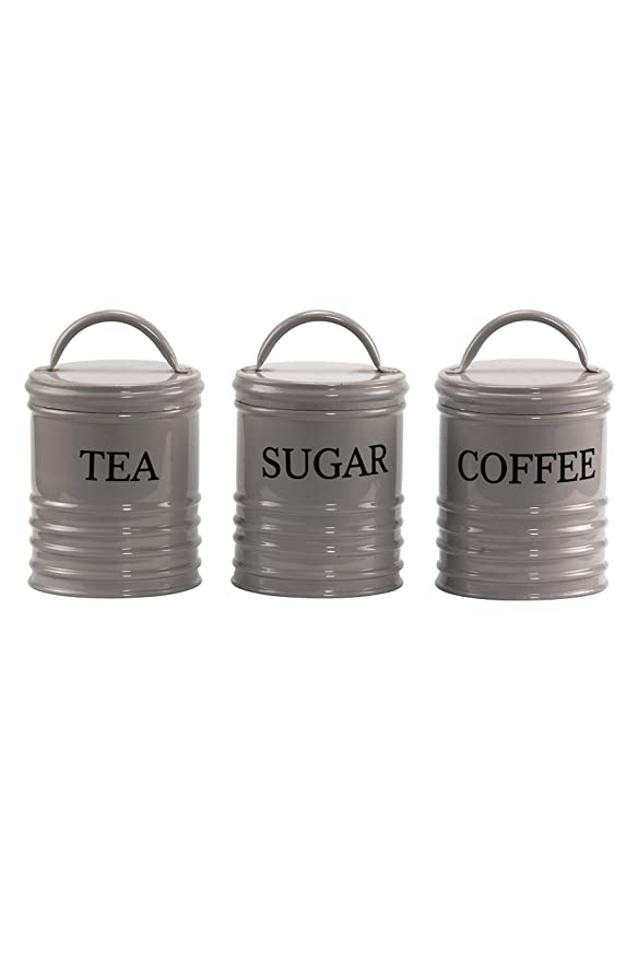 Vorratsdosen Set Tea Coffee Sugar Dosen Vintage Kaffee Tee Zucker