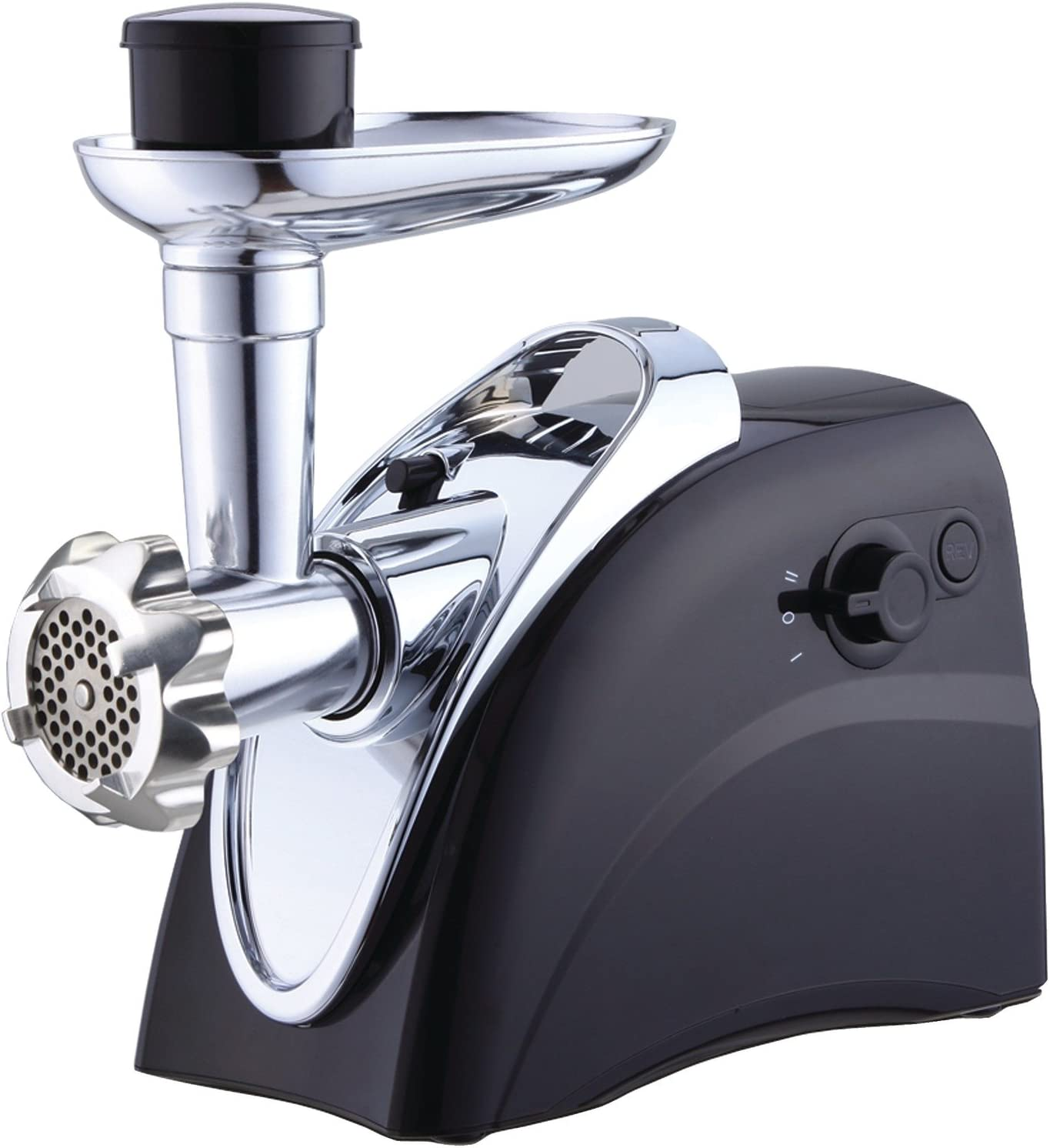 Brentwood Boss Easy to Use Grinder, Sausage Stuffer, Black