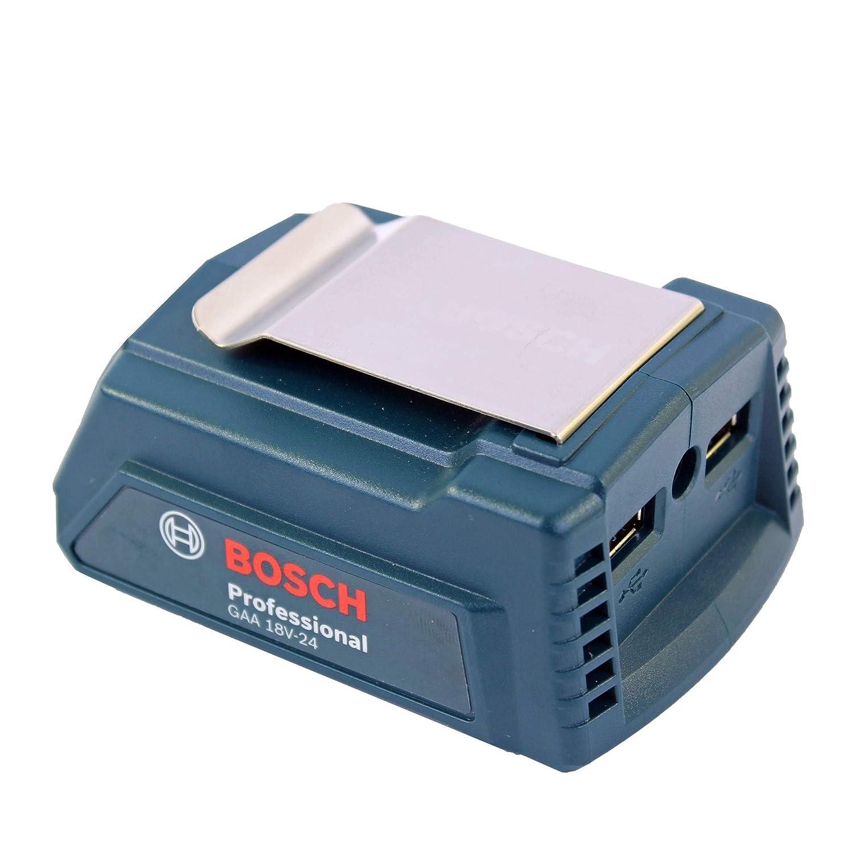18 V Bosch Professional 1600A00J61 Cargador USB de 18V Azul