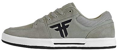 Fallen Mens Patriot Skate Shoe (6 M US, Abbey Stone/Black)