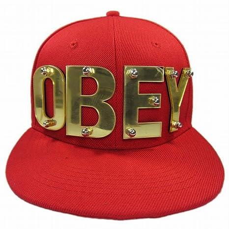 OBEY moda acrílico logotipo del hip-hop del hip-hop del snapback ...