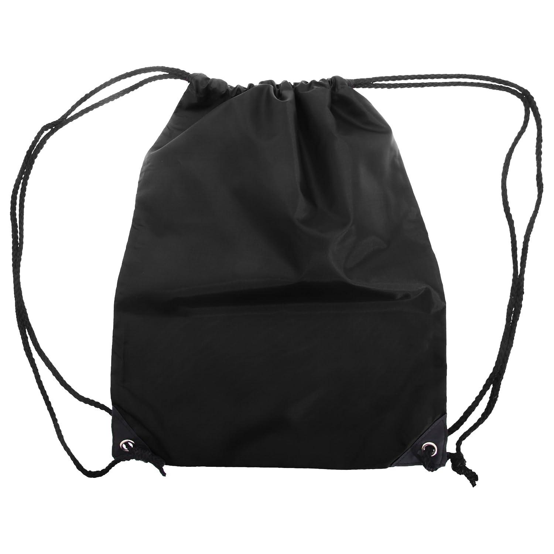 7e9fc335a9 Shugon Stafford Plain Drawstring Tote Bag – 13 Litres (One Size) (Black)   Amazon.co.uk  Clothing …