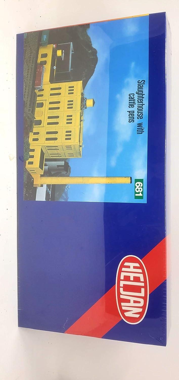 Heljan N Scale Slaughterhouse Finally resale start 100% quality warranty Kit Plastic