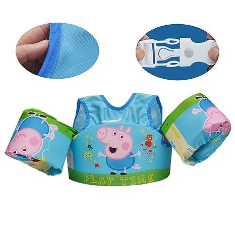 b85356489 Amazon.com  WATER FUN Swim Floats for Toddlers Learn to Swim Life ...