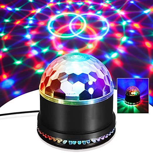 EFGS Luces Discoteca, Bola Discoteca, LED Luz de Fiesta ...