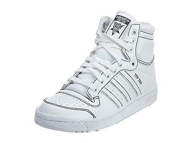 adidas Top Ten Hi J Big Kids Style: F37293-FTWWHITE/FTWWHITE Size: