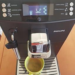 Philips Serie 4000 Máquina de café Espresso automática con espumador de leche clásico, 0 W, 2 Cups, 0 Decibeles, plástico, Negro: Amazon.es: Hogar