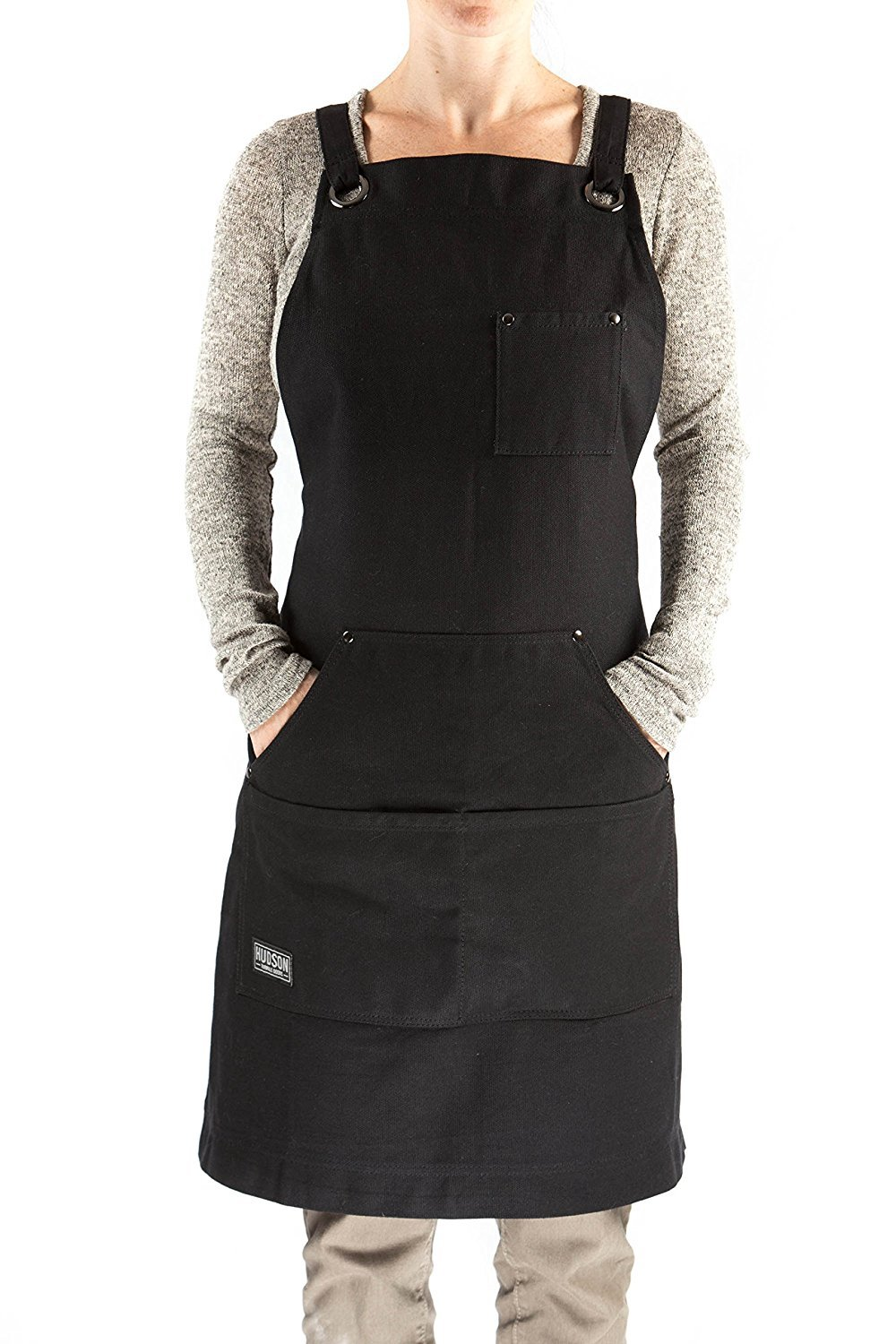 Hot Mens Womens Black Dishwasher Apron Waterproof for Men Women Chef, Black Commercial Restaurant and Home Kitchen