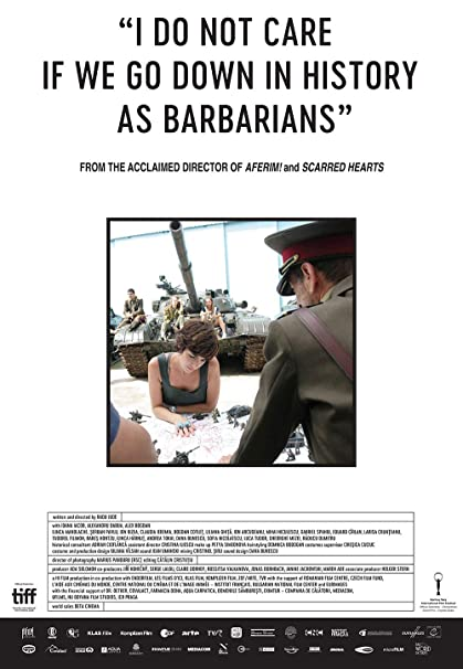 Cover Art for I Do Not Care if We Go Down in History as Barbarians