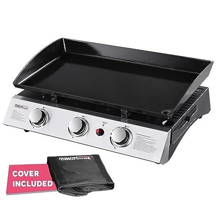 amazon com royal gourmet pd1300 portable 3 burner propane gas grill