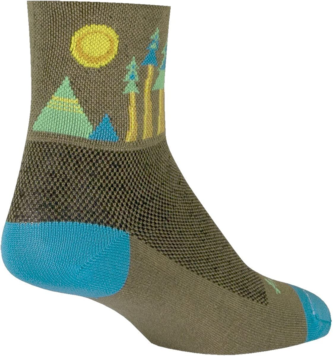 SockGuy Classic 3in Sierra Cycling/Running Socks