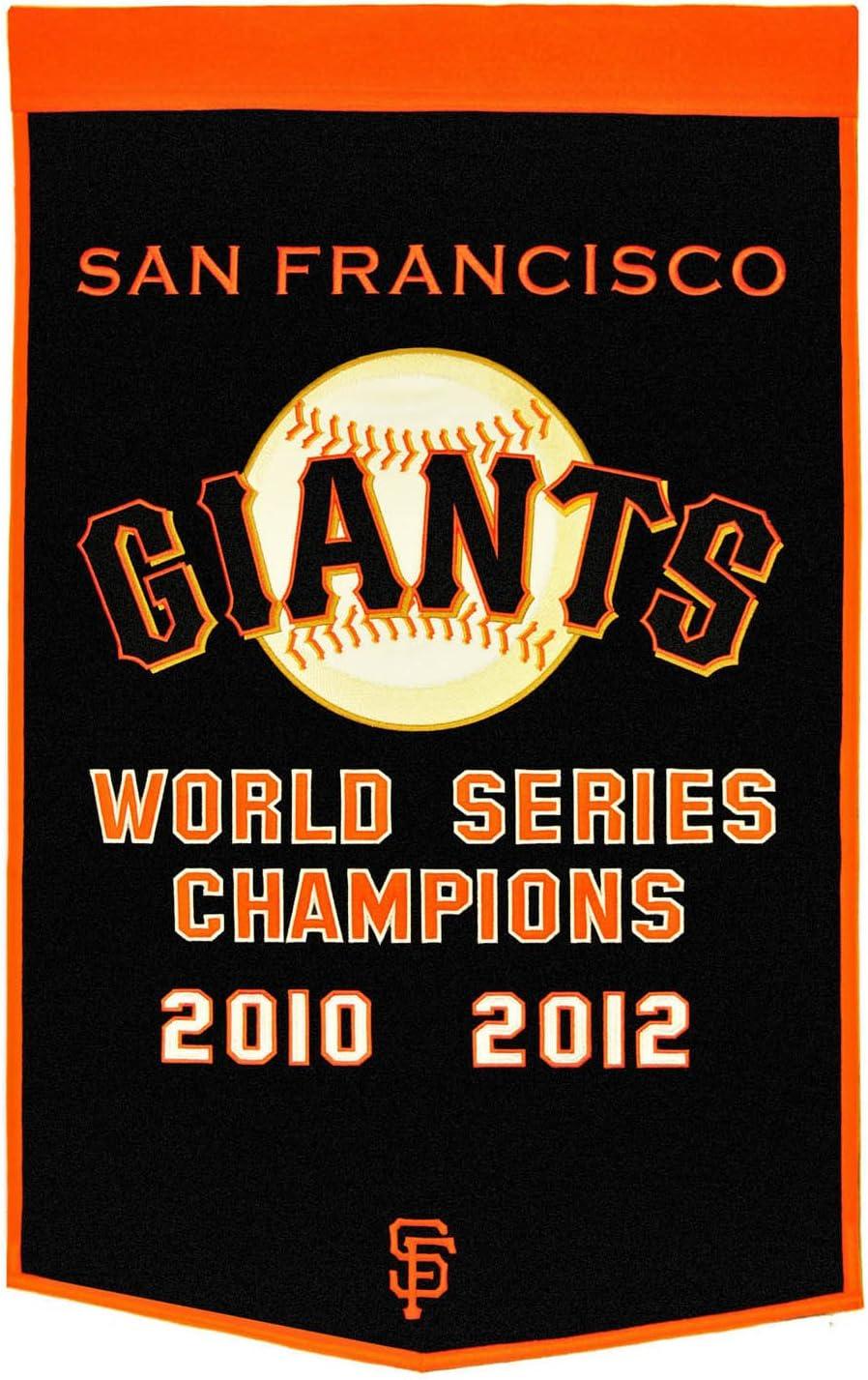 MLB San Francisco Giants Dynasty Banner