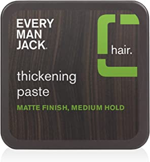 product image for Every Man Jack Thickening Paste | 2.65-ounce | Naturally Derived, Parabens-free, Pthalate-free, Dye-free, and Certified Cruelty Free
