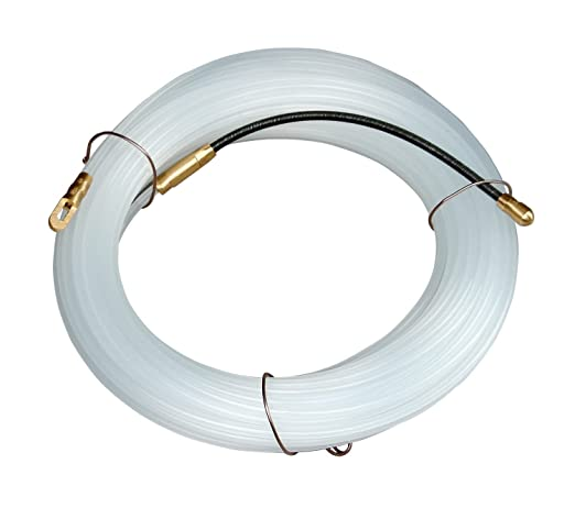 23 opinioni per Electraline 61056 Sonda Tiracavi in Nylon, 14 m, Diametro 4 mm, Trasparente