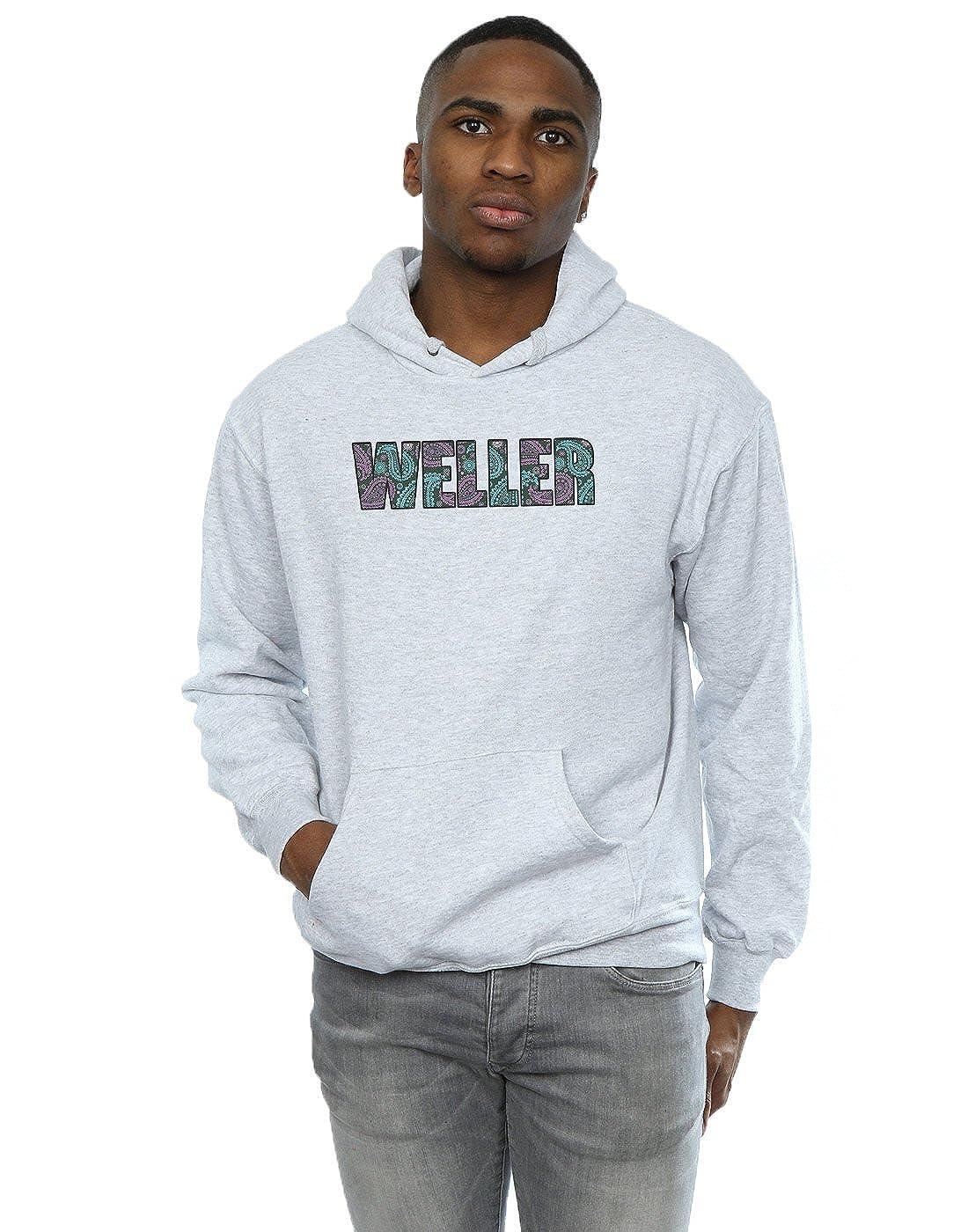 Paul Weller Herren Paisley Logo 1 Kapuzenpullover