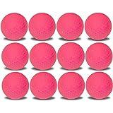 1 Dozen Custom Printed Color Golf Balls Upload Your Logo or Text