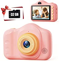 Kids Camera,TONDOZEN 3.5 inch Kid Digital Video Selfie Cameras for Toddler,Children's Digital…