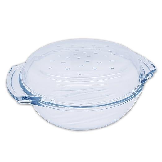 2,4 litros - Ramequín Horno molde de Termisil de cristal