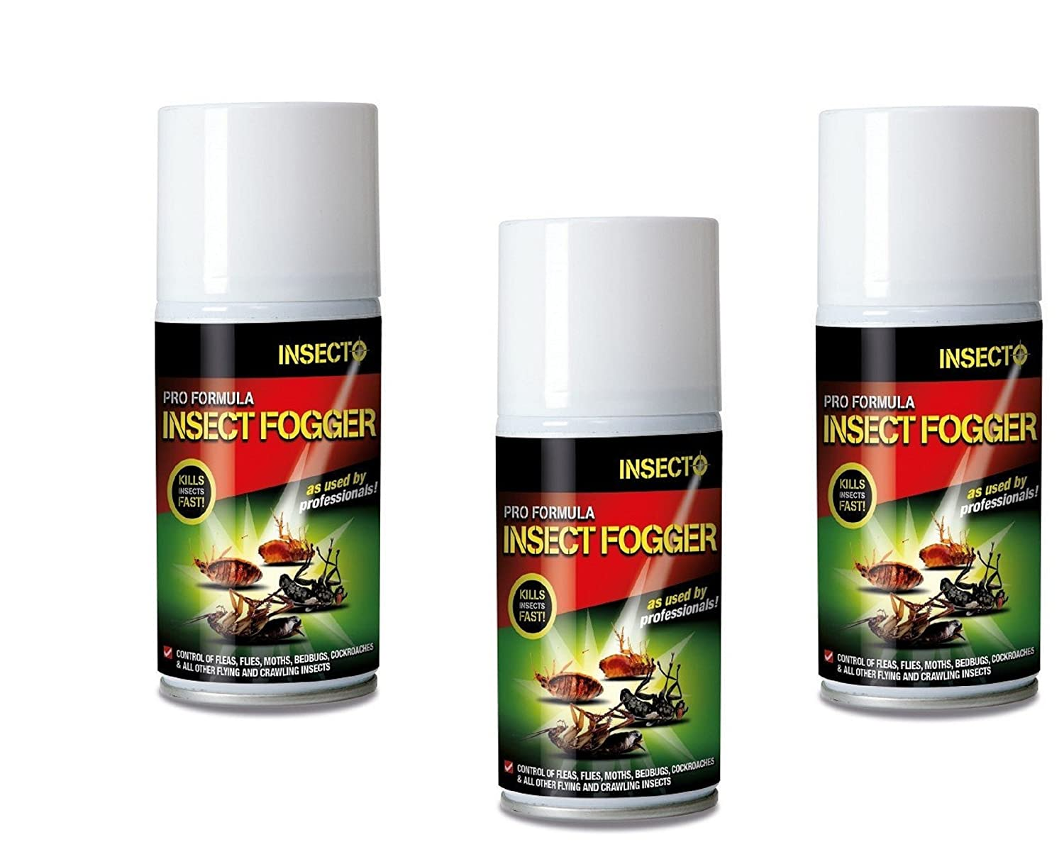Insecto INS3002 Super Flea & Fly Bomb Pack of 3