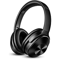OneAudio Noise Cancelling Kopfhörer, Wireless Bluetooth Kopfhoerer mit 30dB Hybrid Aktiver Geräuschunterdrückung & 30 Stunden Spielzeit & Integriertem Mikrofon Freisprechen Over Ear Headset