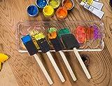 20-Pack Foam Paint Brush Set - 4 Different Sizes