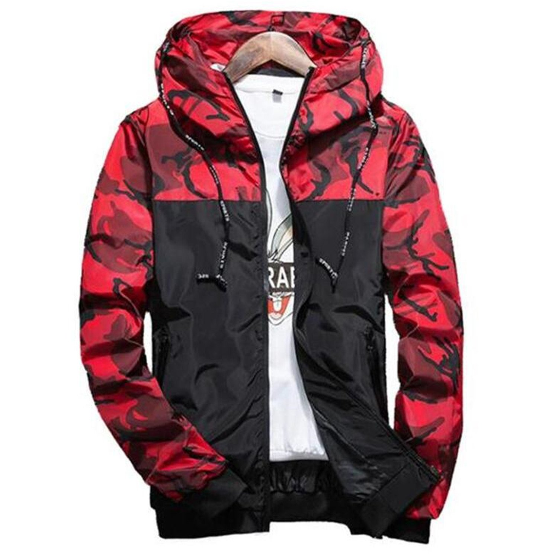 2018 Hot Spring Autumn Men's Camouflage Coat Mens Hoodies Casual Jacket Mens 5XL NeeKer