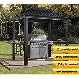 abba patio 9 39 x 5 39 outdoor backyard bbq grill. Black Bedroom Furniture Sets. Home Design Ideas