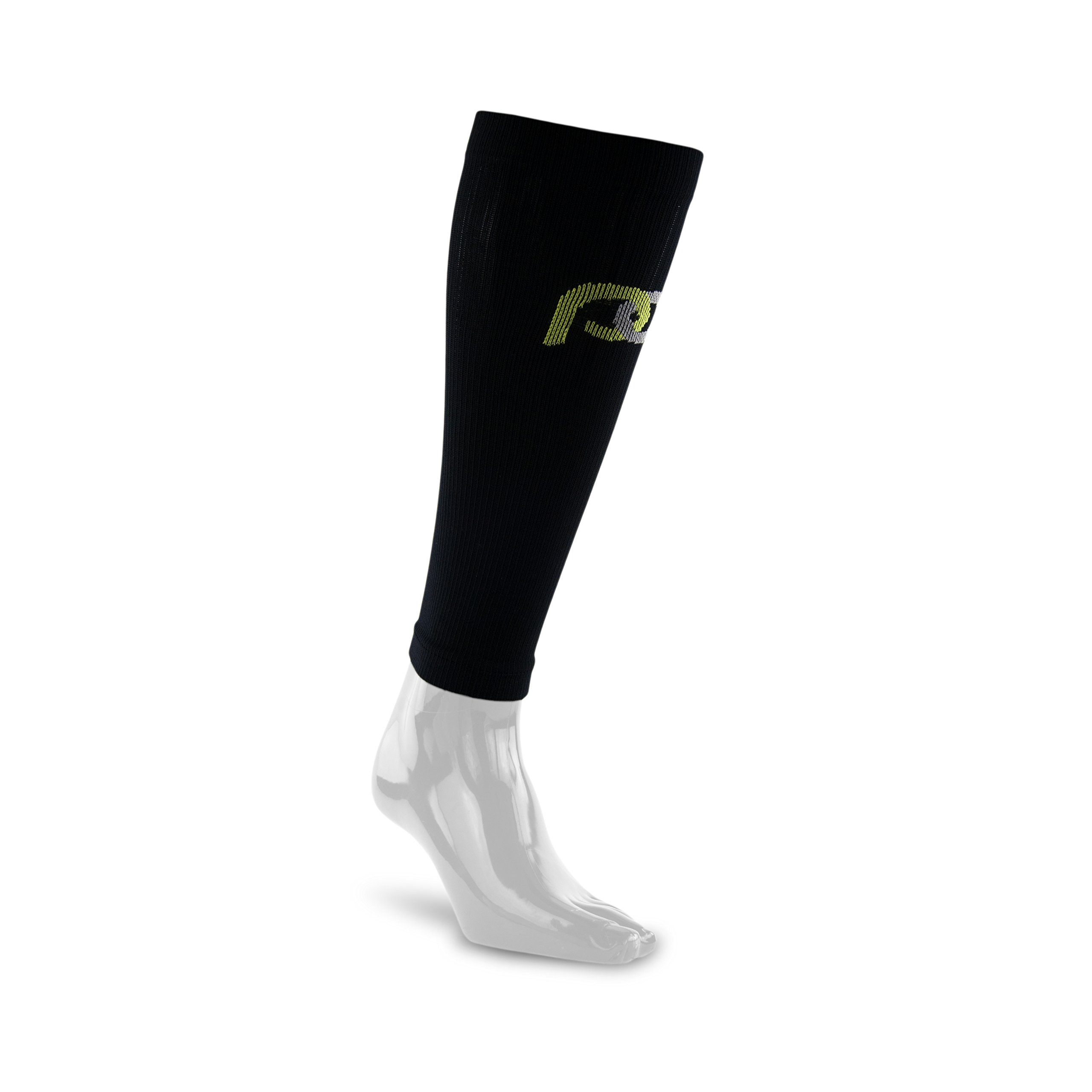 PRO Compression: Calf (Full-Length) Compression Sleeves, Black, Small/Medium