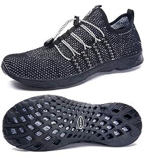 Amazon.com: Aleader calzado acuático de malla, sin ...