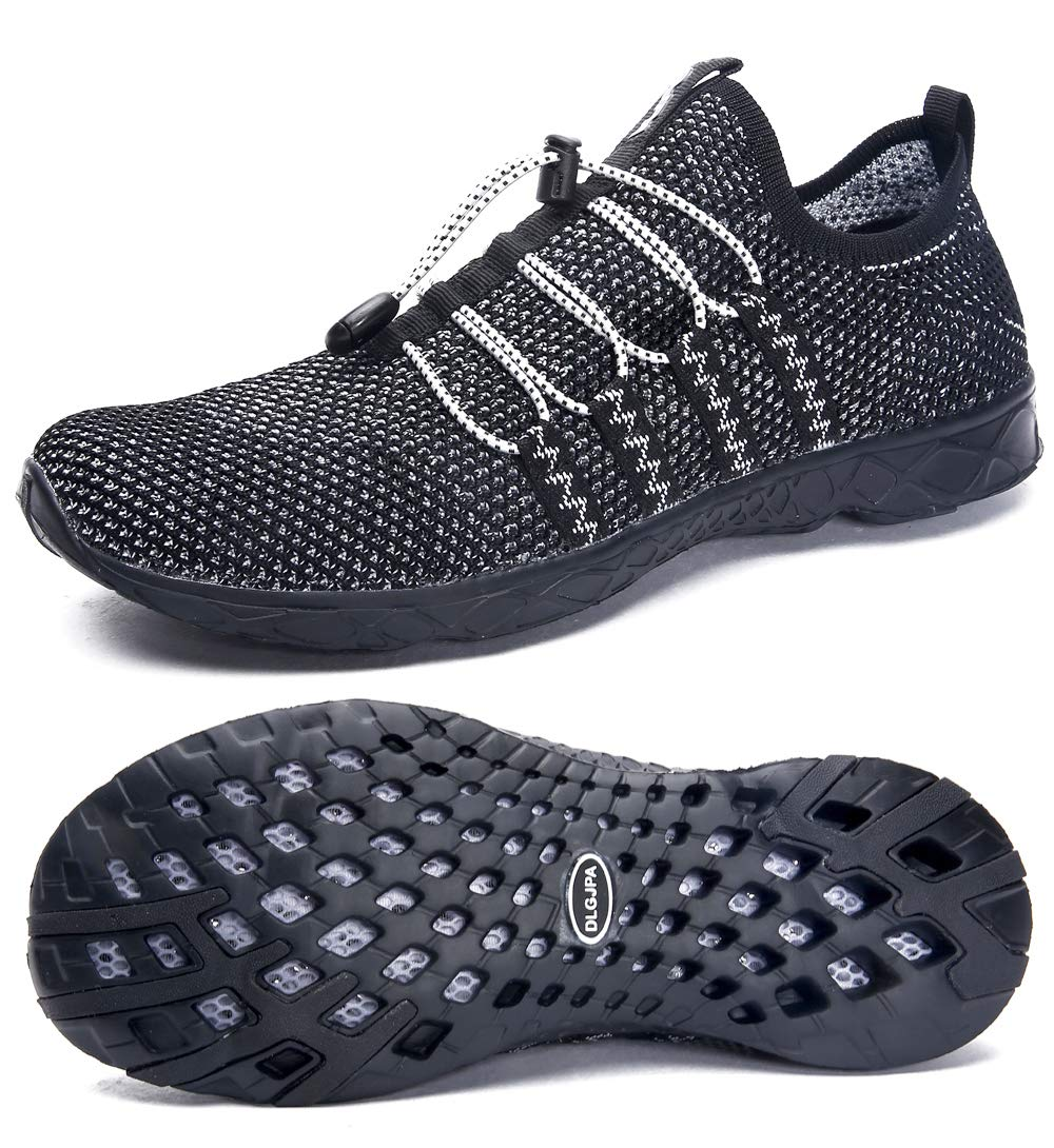 DLGJPA Women's Quick Drying Water Shoes for Beach or Water Sports Lightweight Slip On Walking Shoes by DLGJPA