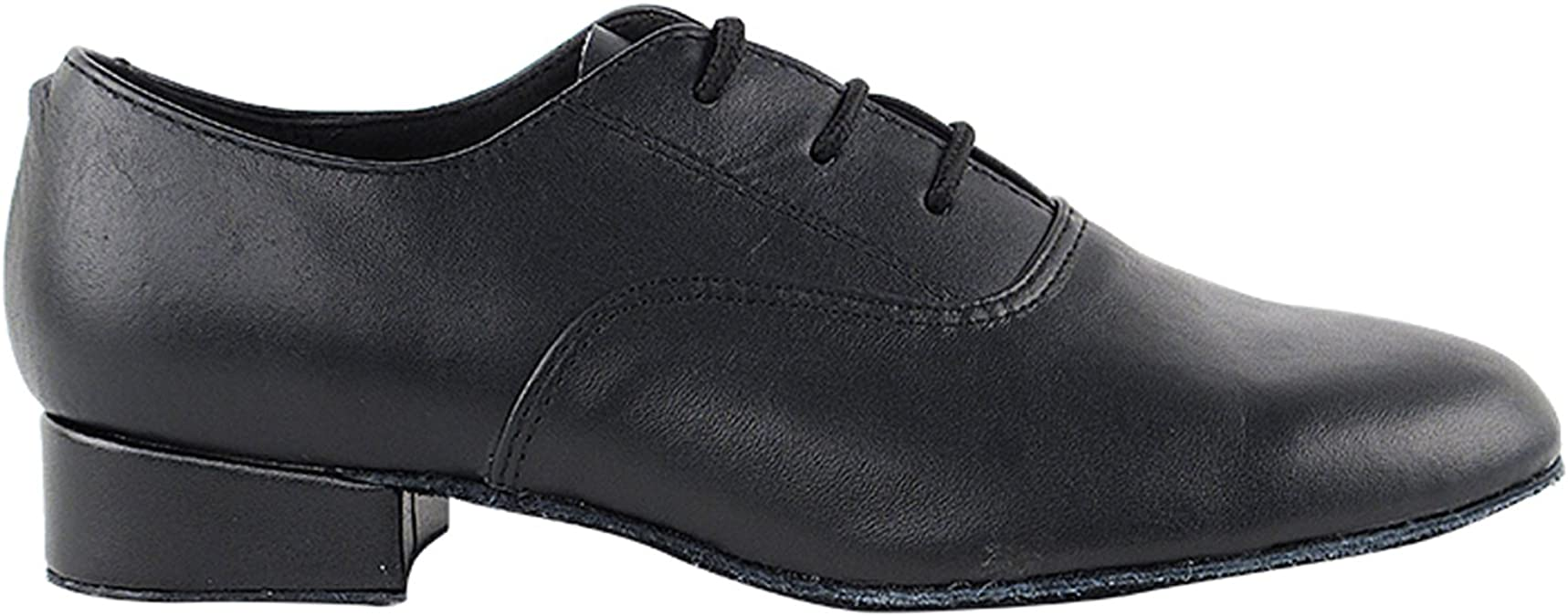 Boys Youth Latin Salsa Very Fine Ballroom Dance Shoes 915108B Black Leather