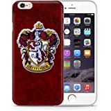 iPhone 5/5s Harry Potter Houses Silicone Case / Gel Cover for Apple iPhone 5s 5 SE / Screen Protector & Cloth / iCHOOSE / Gryffindor