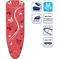 Leifheit L71613 Perfect Steam Air Board Express Ironing Board Cover, Medium, Red
