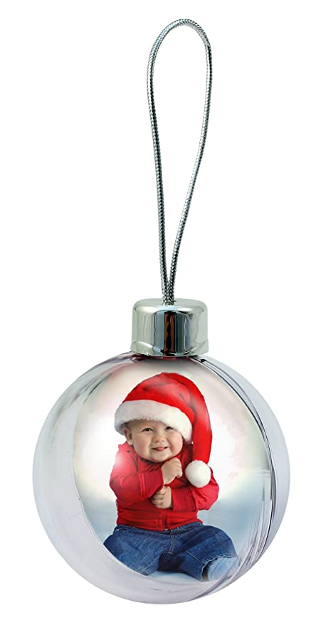 photo christmas baubles uk