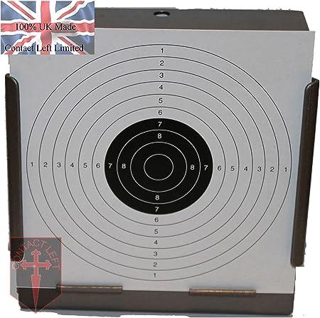 100 X 17 Cm Bersagli Di Carta Per Carabina Ad Aria Compressa A Pistola 100 G Mq Amazon It Sport E Tempo Libero