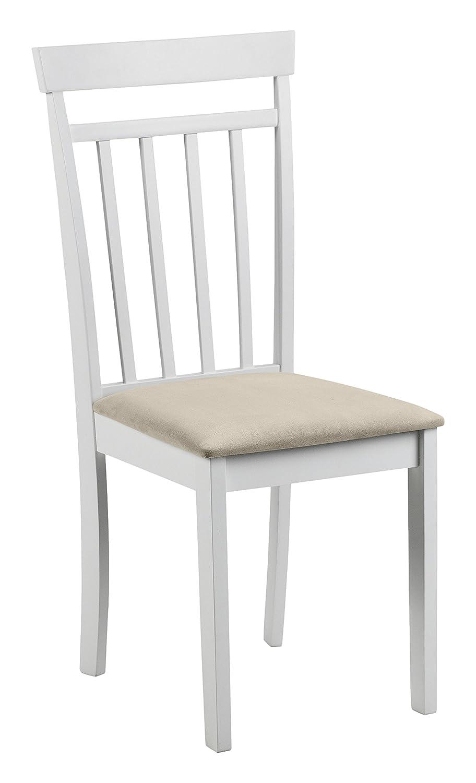 Julian Bowen Dining Chairs, Wood White, 44x50x94 cm: Amazon